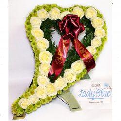 Coroana funerara inima C3