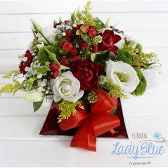 Aranjament floral platou AF52
