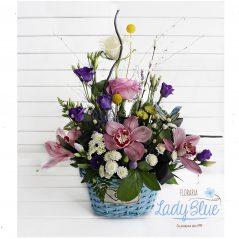 Aranjament floral in cos AF54
