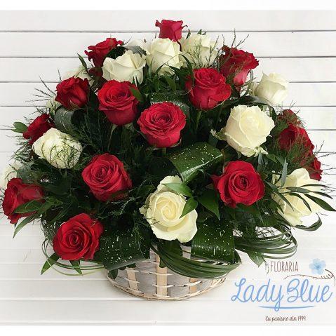 Cos cu trandafiri AF99