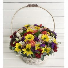 Aranjament floral in cos AF109