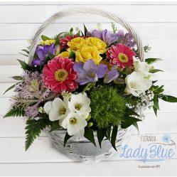 Aranjament floral in cos AF63