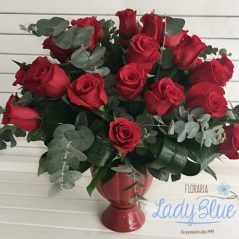 Aranjament floral trandafiri AF106
