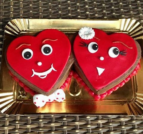 Tort in forma de inima