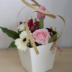 Sacoșică cu flori AF164