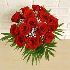 Buchet trandafiri rosii B15