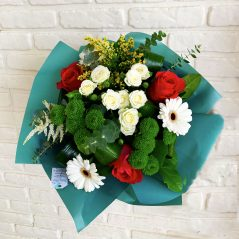 Buchet cu flori mixte B62