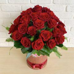 Cutie cu trandafiri AF 55