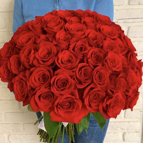 Buchet 89 trandafiri