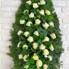 Coroana trandafiri C55
