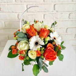 Aranjament floral in cos AF73