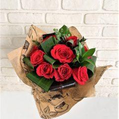 Buchet trandafiri 11 rosii