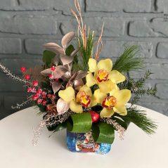 Aranjament cu orchidee AC 17