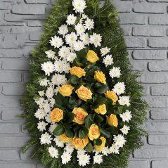 Coroana funerara C454