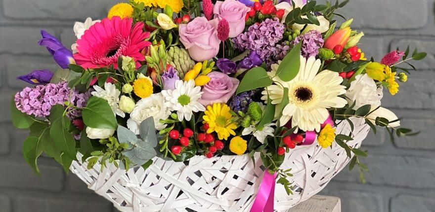 Flori de vară în Bacău – Cele mai frumoase aranjamente și buchete colorate