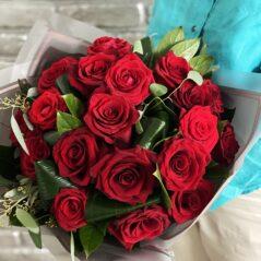 Buchet 19 trandafiri B489
