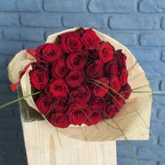 Buchet cu 25 trandafiri B487