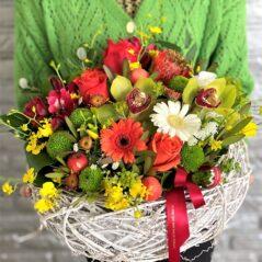 Cosul florilor de toamna